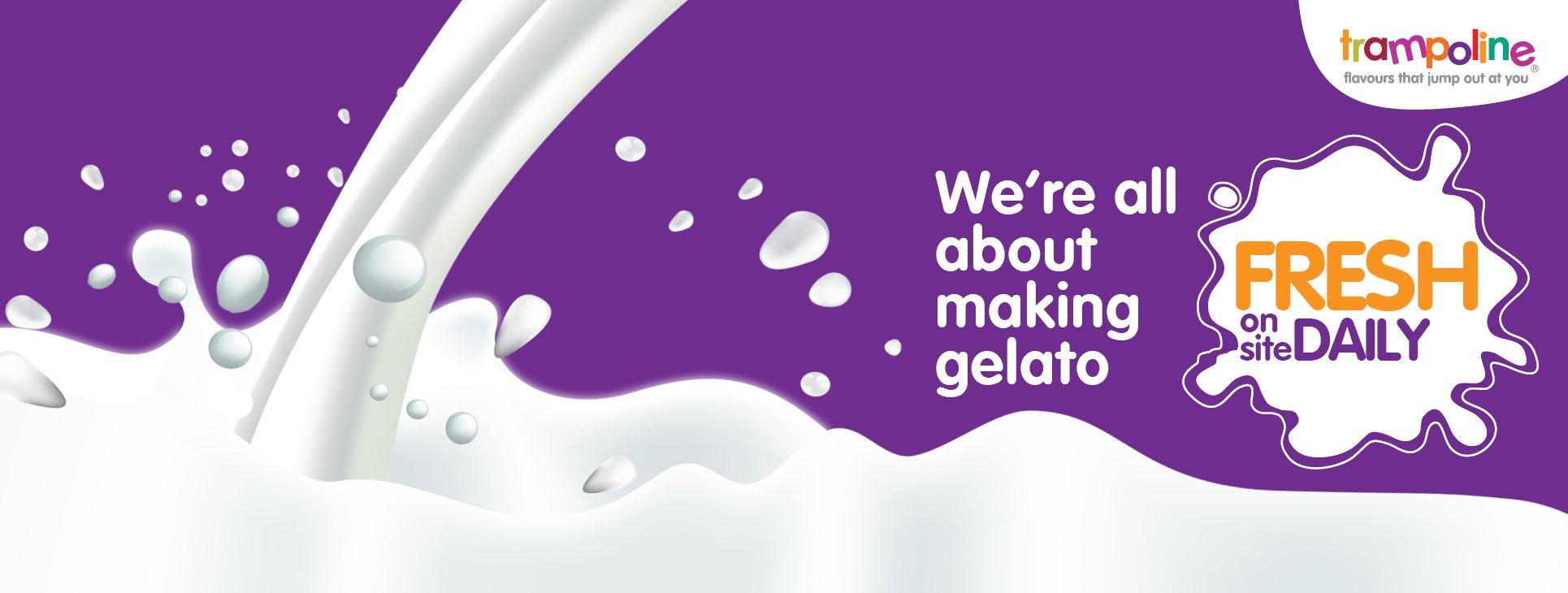 Tampoline Gelato Ice Cream Banner1
